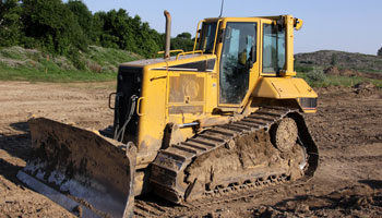 bulldozer earth mover machine construction dirt
