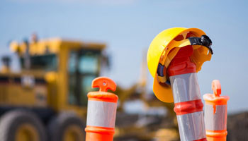 construction management hardhat machinery